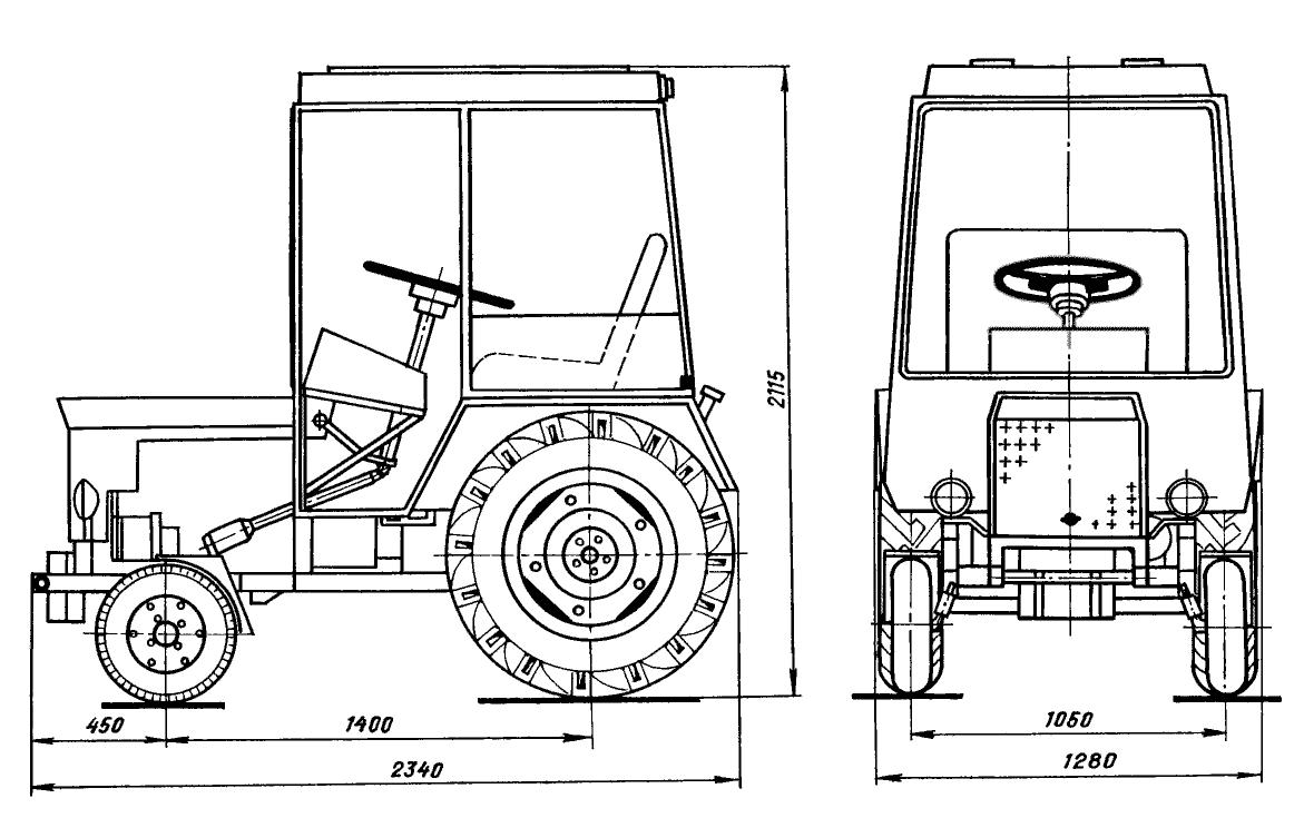 устройство замок зажигании трактор т 25 а схема