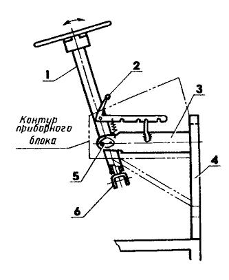 Рулевая колонка мини-трактора