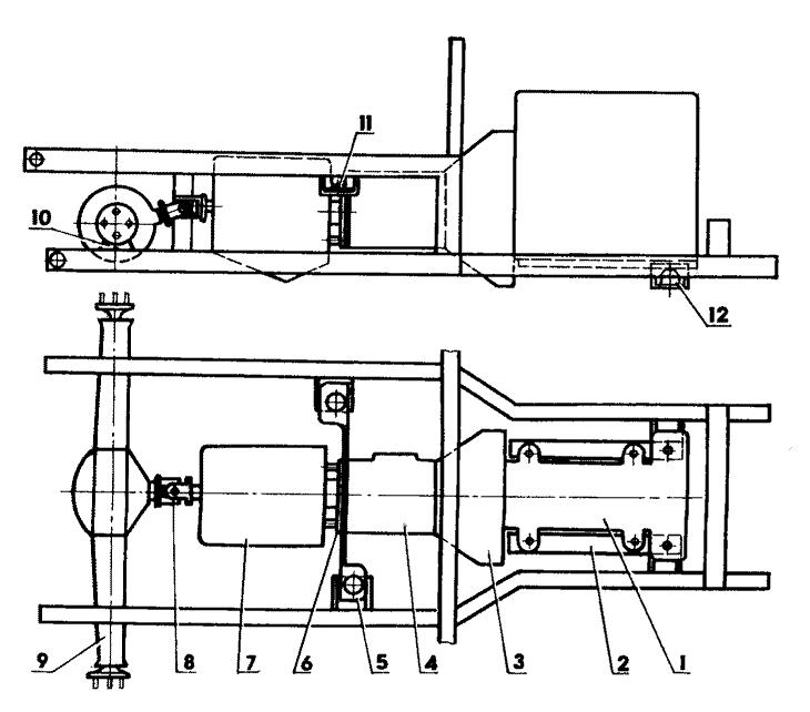 сцепления (от УАЗ-469);
